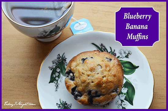 These Blueberry Banana Muffins are a great snack or to-go breakfast ...