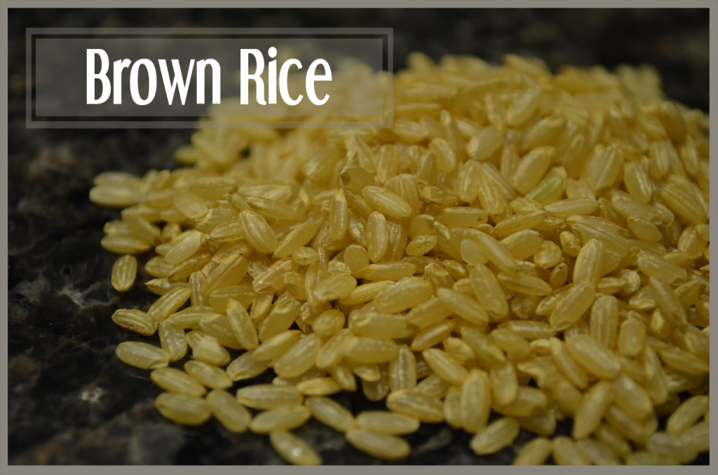 todayimight.com | Smoothie Ingredients | Brown Rice
