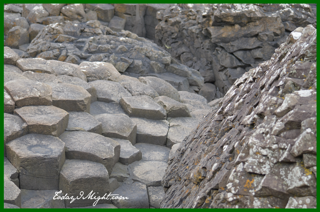 todayimight.com | Ireland | Giant's Causeway | Hexagonal Columns