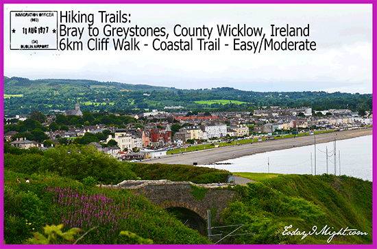 todayimight.com | Hiking | Bray to Greystones County Wicklow Ireland