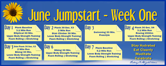 todayimight.com | June Jumpstart | Week One Calendar