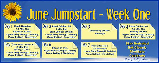 todayimight.com | June Jumpstart | Week One Calendar