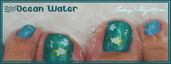 todayimight.com | Ocean Water Pedicure