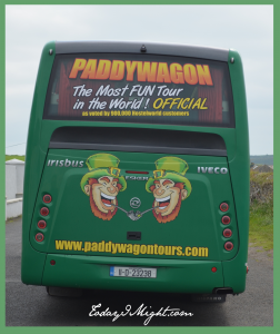 todayimight.com | Ireland | Paddywagon Tour Bus