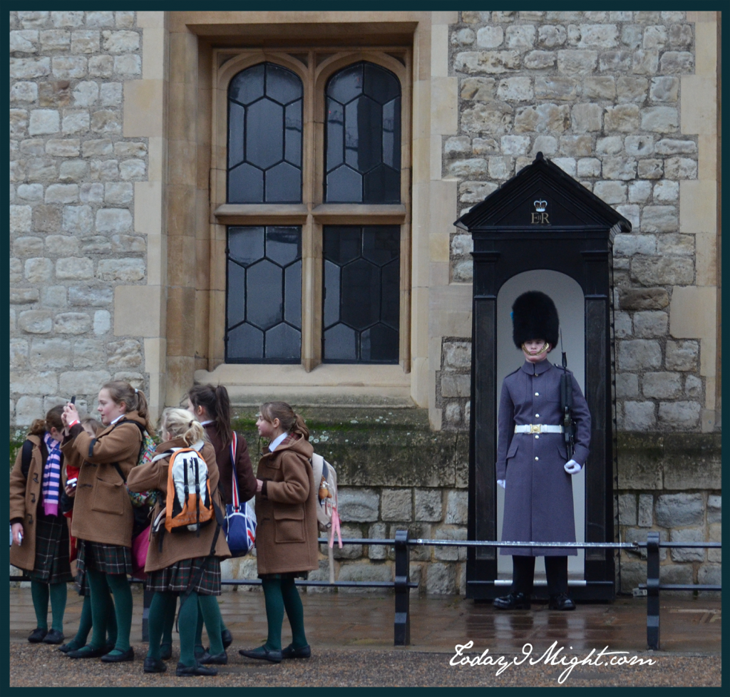 todayimight.com | London | Tower of London | Queens Guard