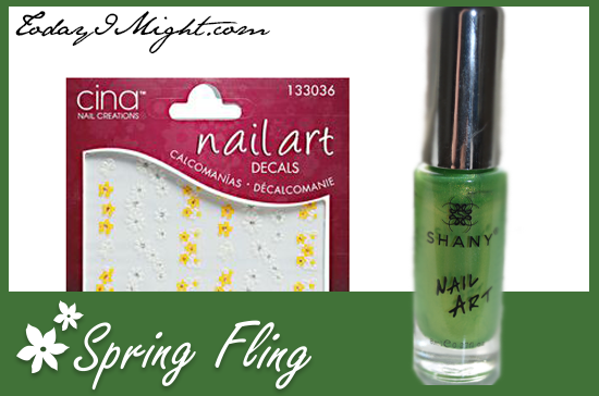 Today I Might | Spring Fling Pedicure Products