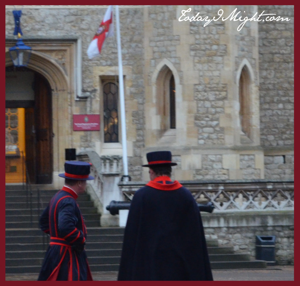todayimight.com | London | Tower of London | Yeoman Warders in Square