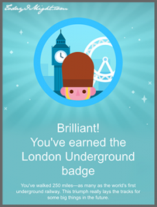 todayimight.com | 7 Motivating Features of the New FitBit Surge | London Underground Badge