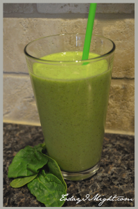 todayimight.com | June Jumpstart | Green Smoothie