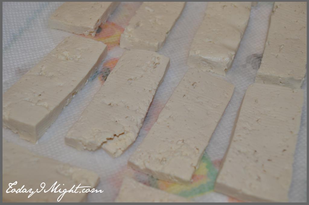 todayimight.com | Medium Firm Tofu Sliced