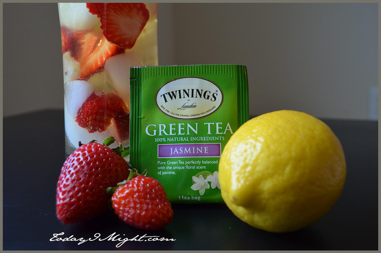 iced green tea strawberry green tea lemonade strawberry lemon green ...