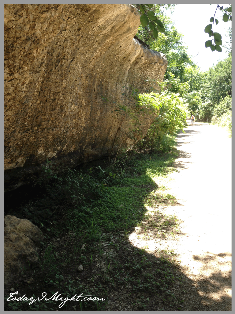 todayimight.com | Brushy Creek Regional Trail | Limestone Cliff