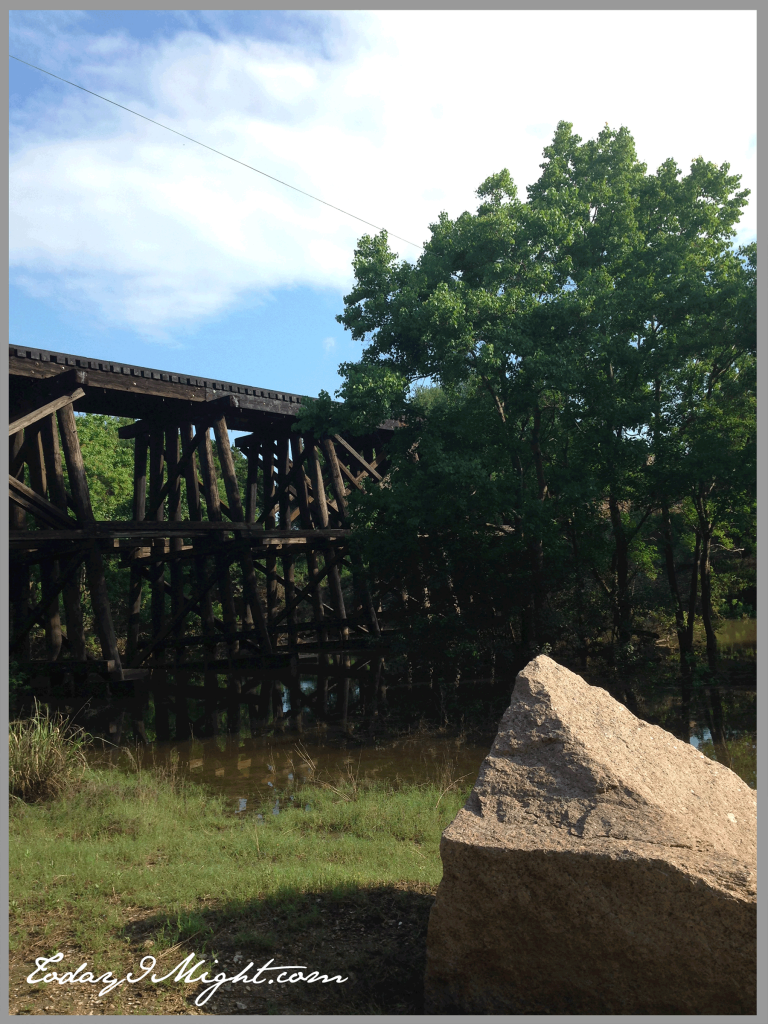 todayimight.com | Brushy Creek Regional Trail | Train Trestle