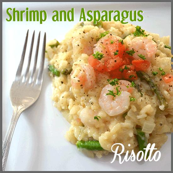 todayimight.com | Shrimp and Asparagus Risotto