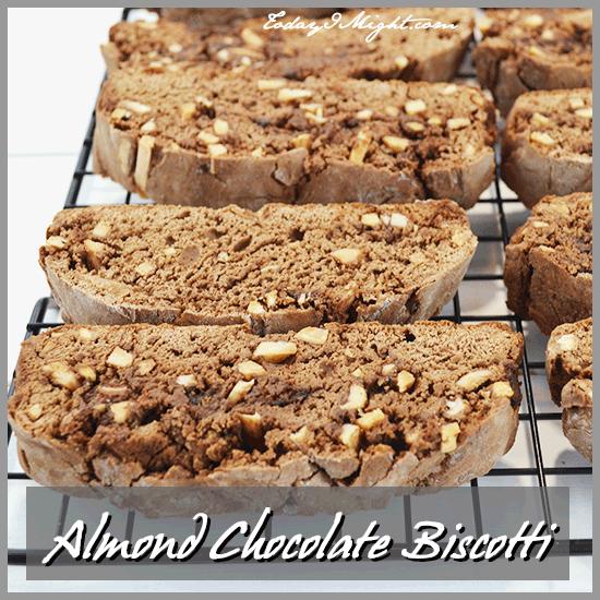 todayimight.com | Almond Chocolate Biscotti Recipe