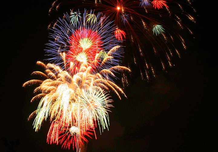 todayimight.com   Fireworks in Tokyo