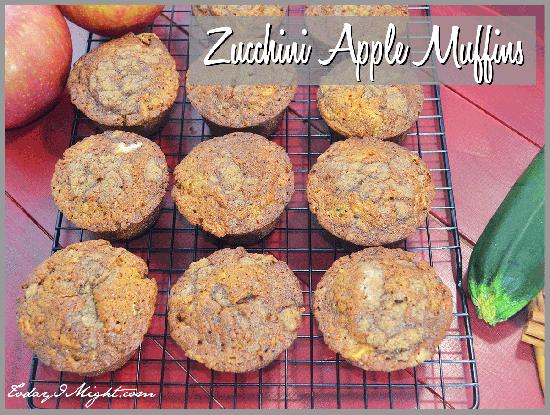 todayimight.com   Zucchini Apple Muffin Recipe