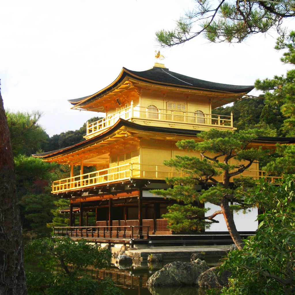 todayimight.com | Golden Palace - Kyoto