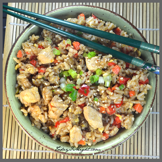 todayimight.com | Chicken Fried Rice