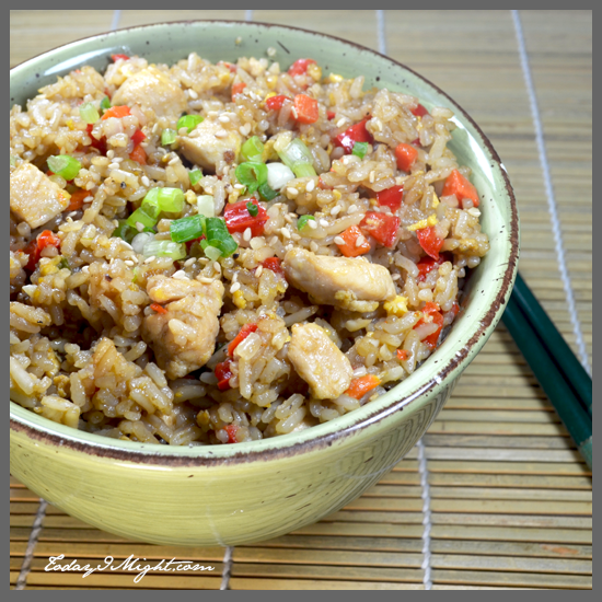 todayimight.com | Chicken Fried Rice Bowl