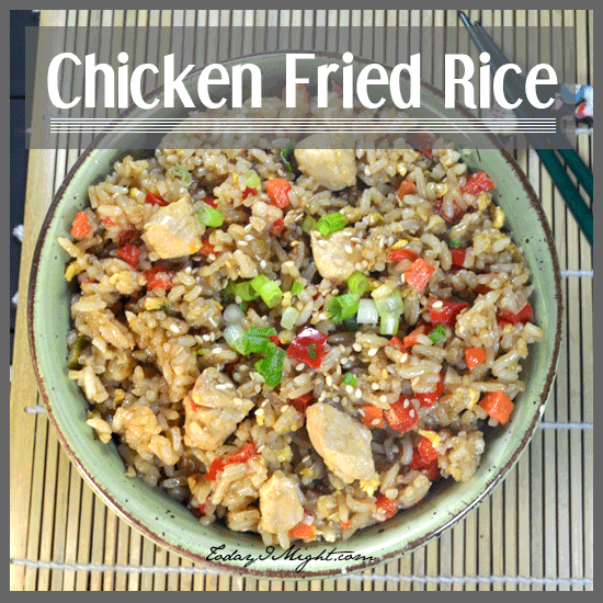 todayimight.com | Chicken Fried Rice Recipe
