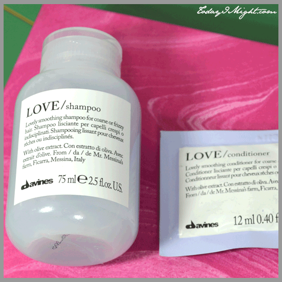 todayimight.com | Davine's Love Shampoo and Conditioner