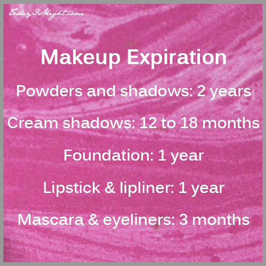 todayimight.com | Makeup Expirations