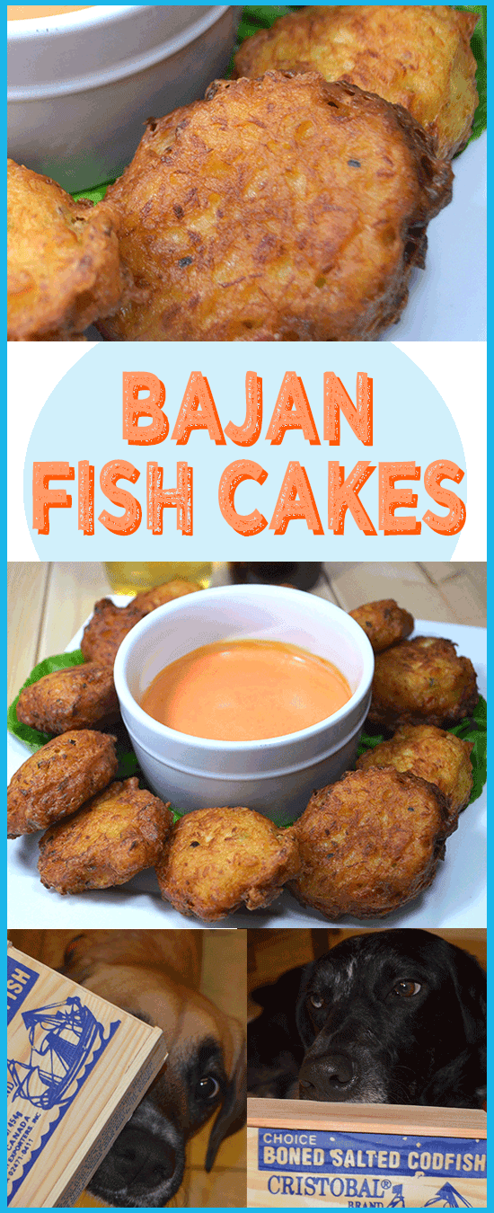 Bajan fish cakes fish cakes fish fritters salted cod