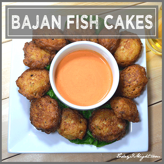Bajan fish cakes today i might for How to make cod fish cakes
