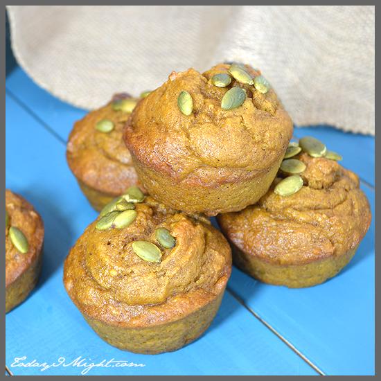 todayimight.com | Pumpkin Muffins