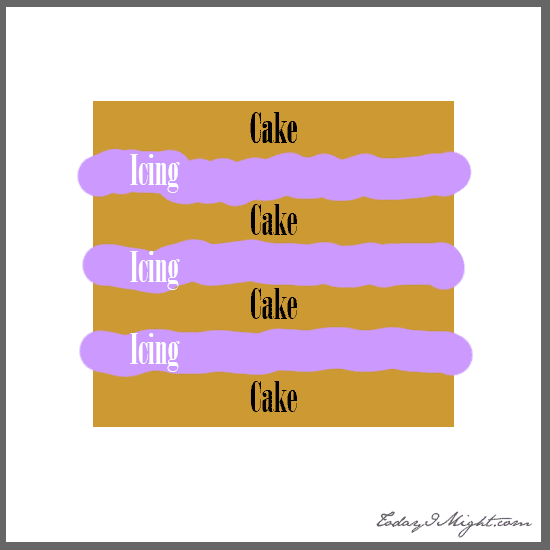 todayimight.com | Bunny Cake Layers