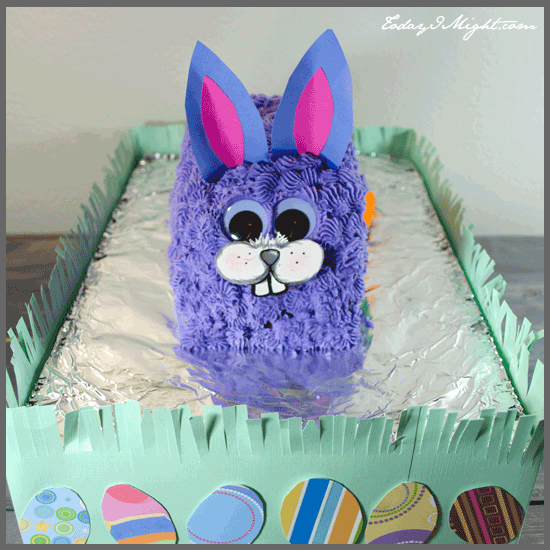 todayimight.com | Bunny Cake with Grass