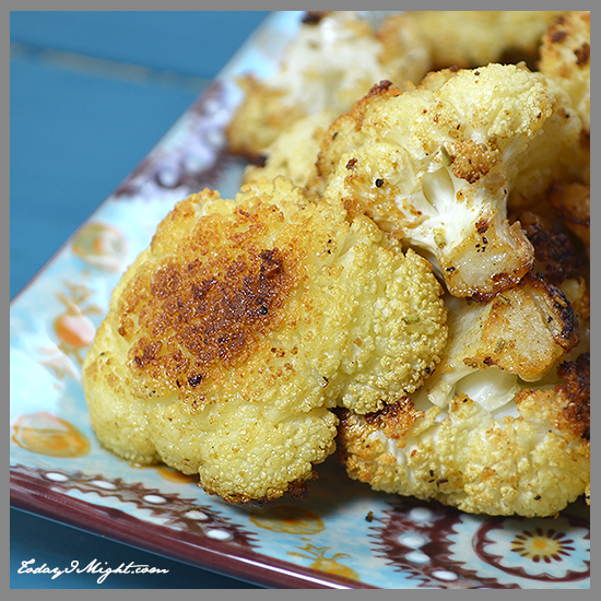 todayimight.com | Mediterranean Roasted Cauliflower Florets