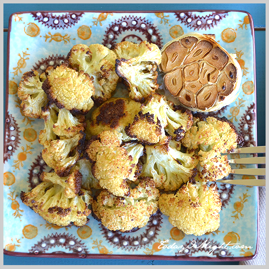 todayimight.com | Mediterranean Roasted Cauliflower