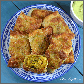 todayimight.com | Irresistable Chickpea Samosas