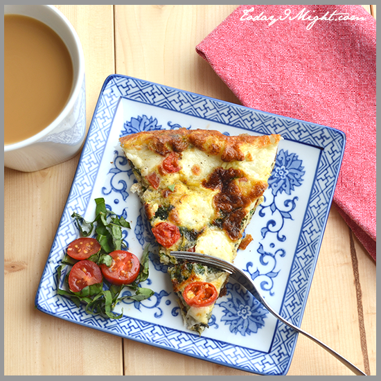 todayimight.com | Caprese Frittata