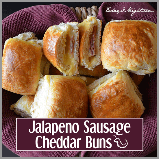 todayimight.com | Jalapeno Sausage Cheddar Buns